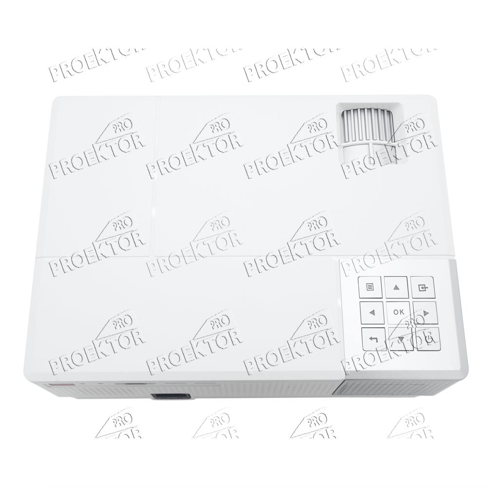 Мини проектор Excelvan CL770 (белый) - 4