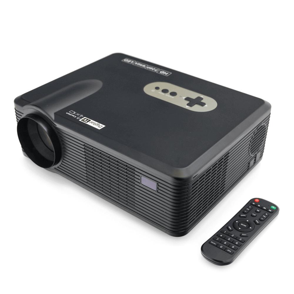 Мини проектор Excelvan CL720D (чёрный) - 2